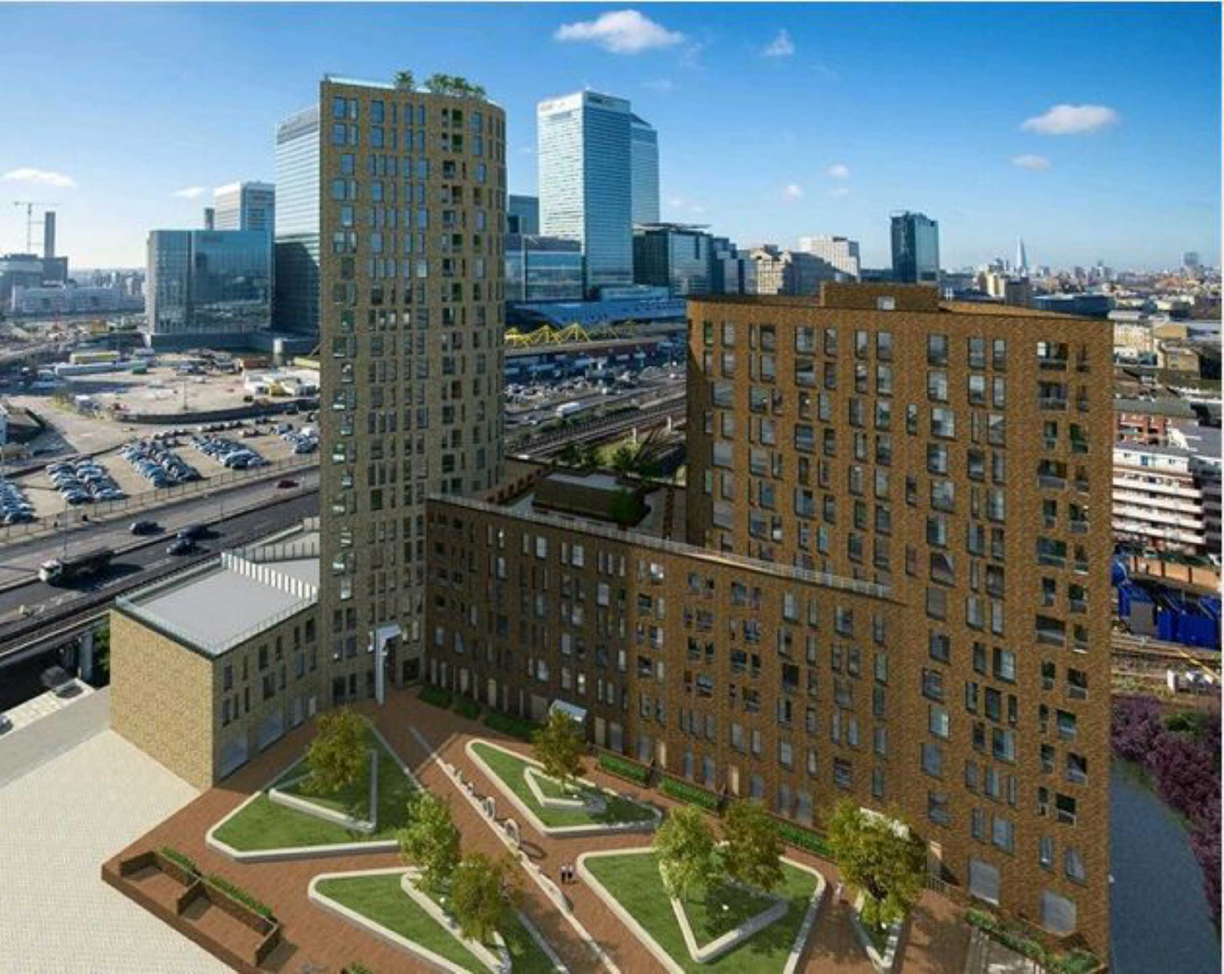 1 Bedroom Flat For Sale In Manhattan Plaza, Canary Wharf