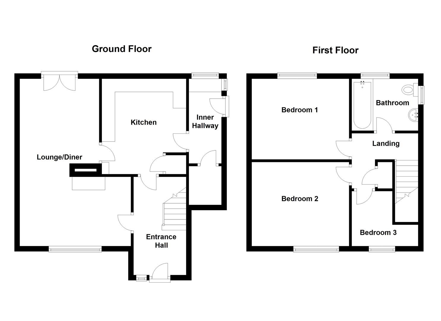 3 bedroom detached house for sale 45452938 primelocation for Ashby house plan