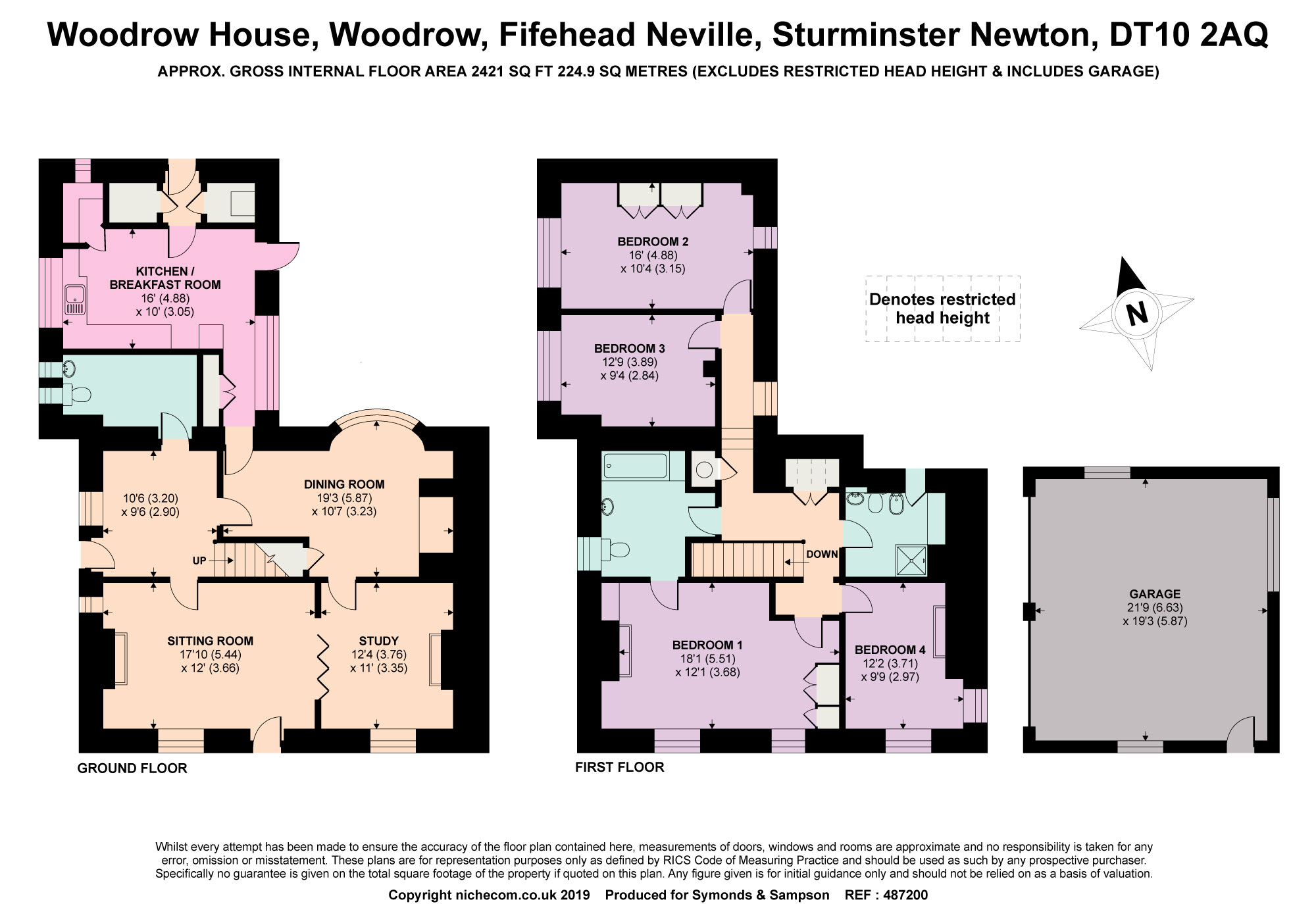 4 Bedrooms Detached house for sale in Woodrow, Fifehead Neville, Sturminster Newton, Dorset DT10