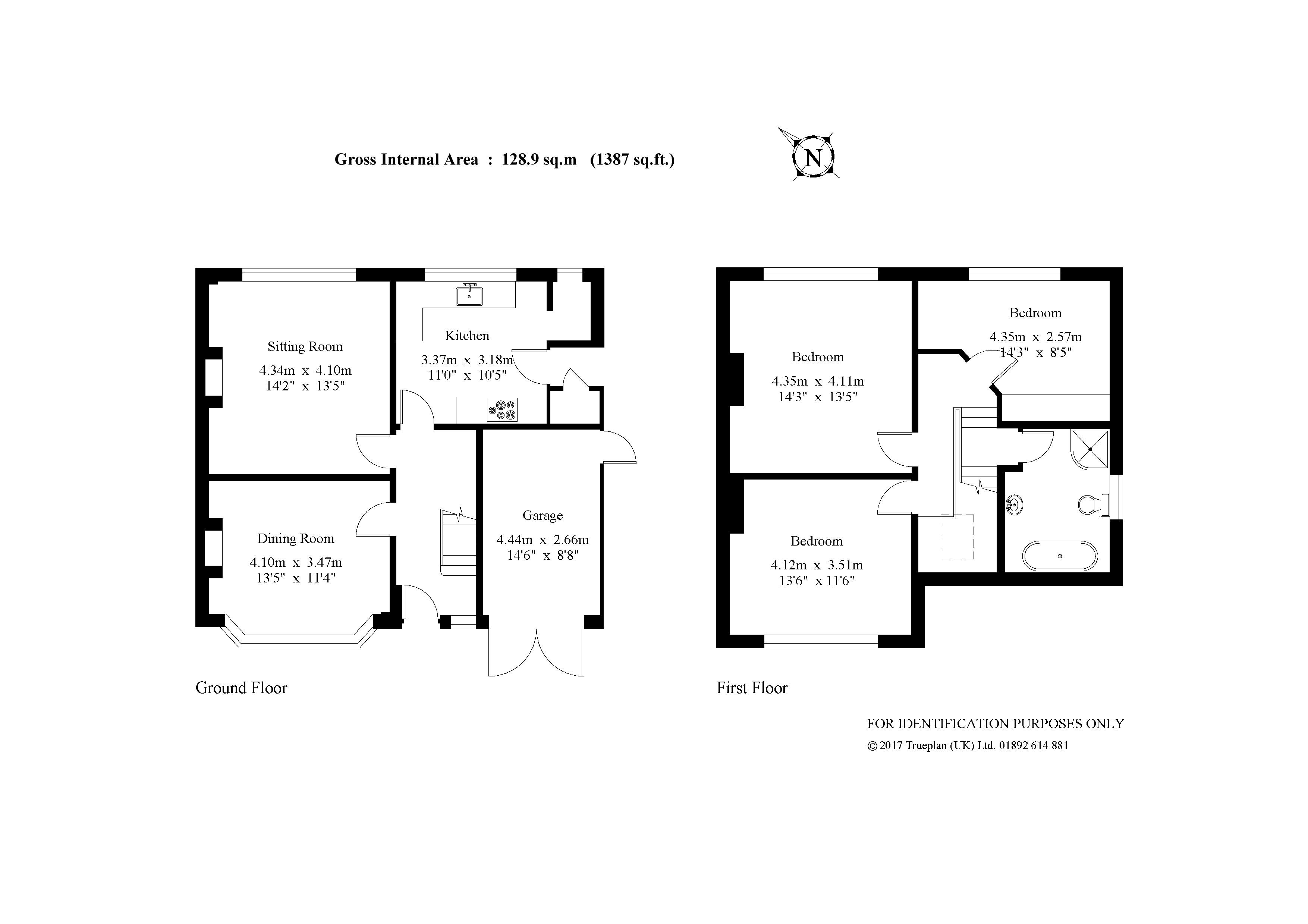3 Bedroom Semi Detached House For Sale 45880807
