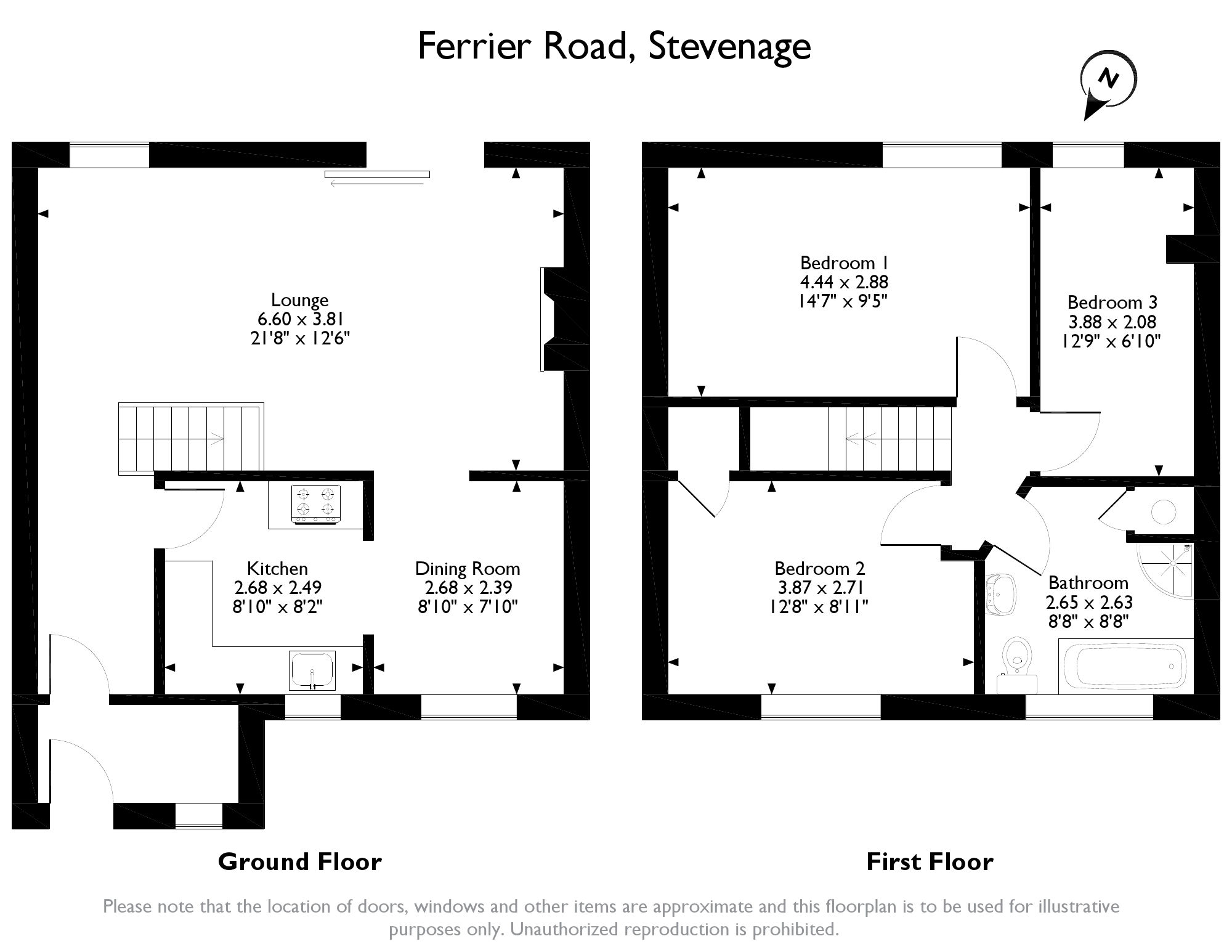 3 bed terraced house for sale in ferrier road  stevenage