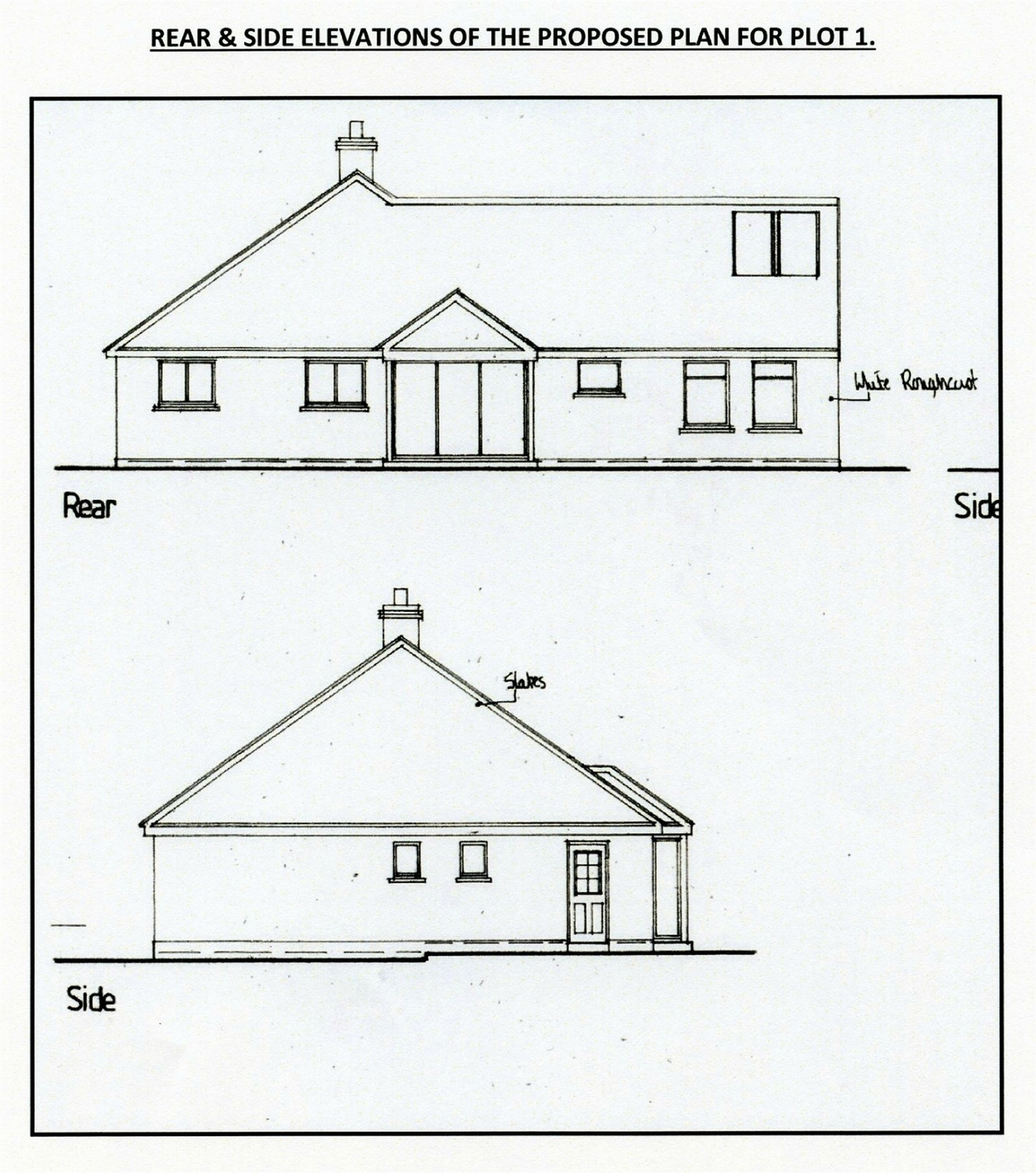 Land For Sale In 2 Building Plots Opposite Nantcrymanau