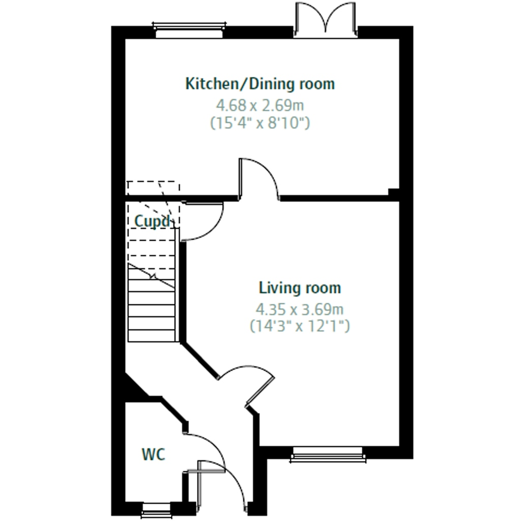 3 Bedrooms End terrace house for sale in