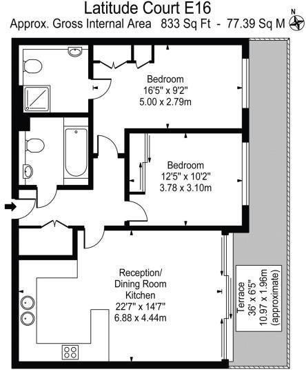 Heronsgate Primary School: Albert Basin Way, London E16, 2 Bedroom Flat For Sale
