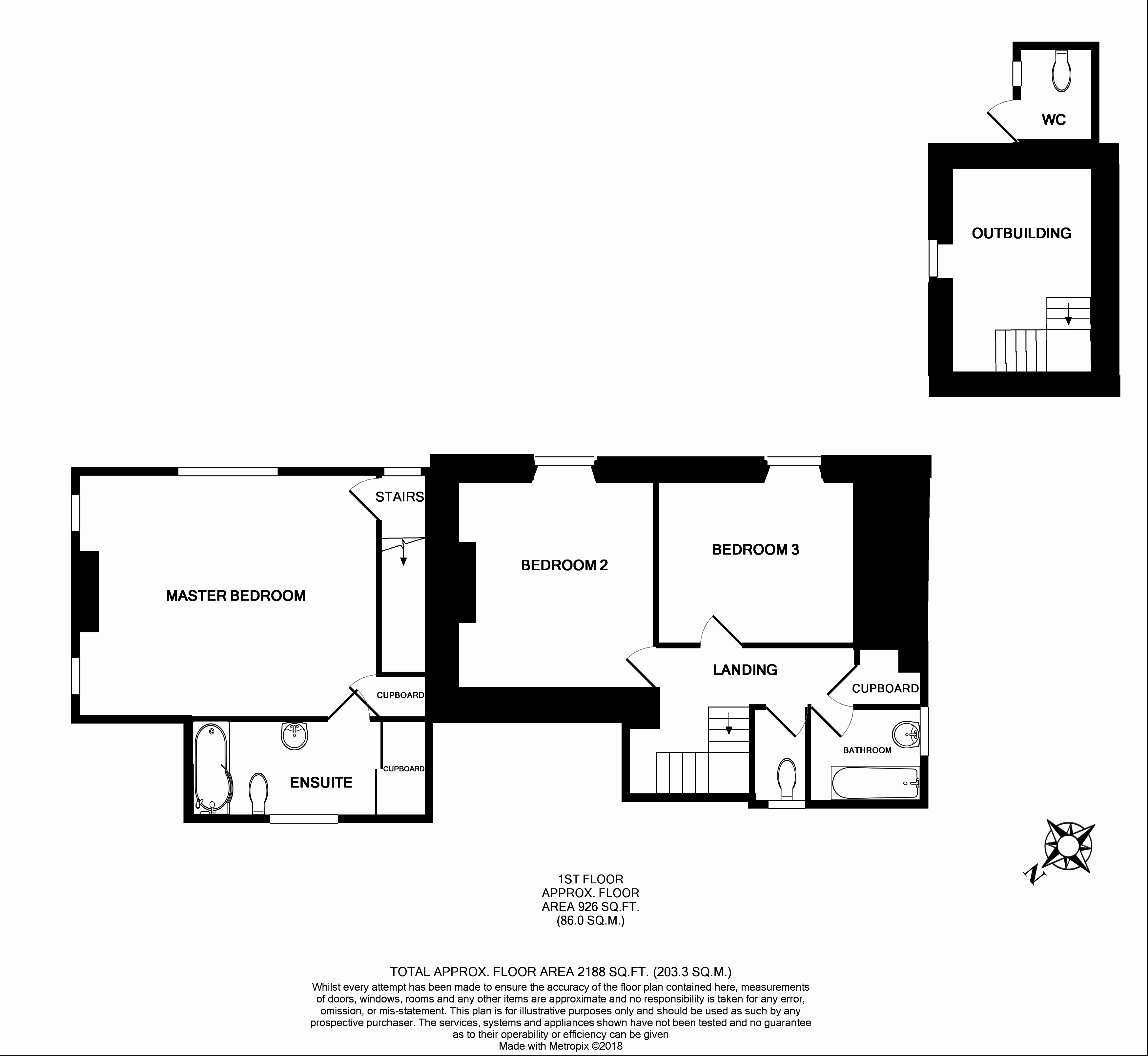 3 Bed Detached House For Sale In Wendron Helston Tr13 Zoopla Cost Of Rewiring A Uk Floorplan