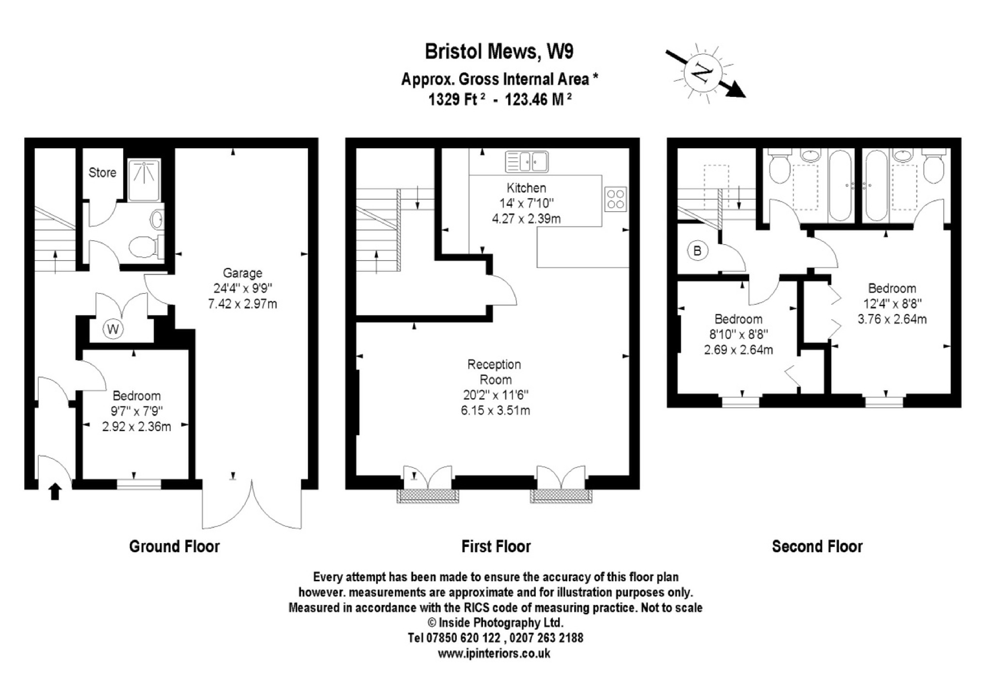 3 Bedrooms Mews house for sale in Bristol Mews, London W9