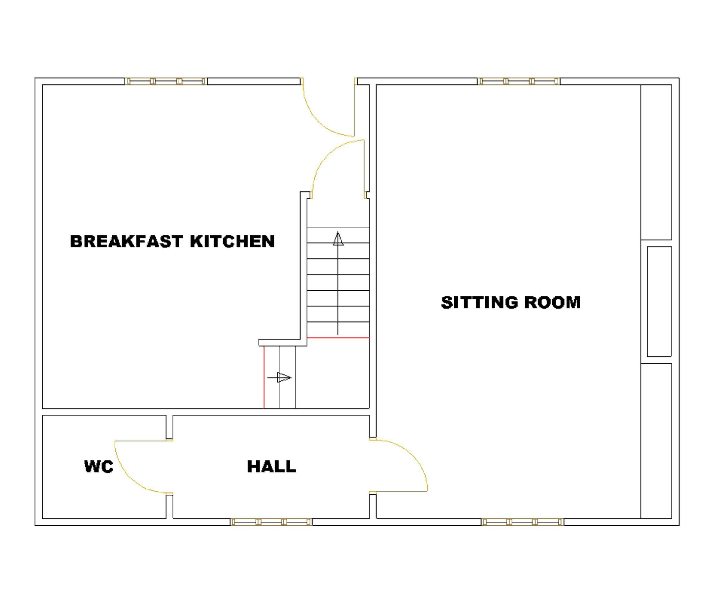 Floor Front Elevation Worship : Compton green redmarley gloucester gl bedroom semi