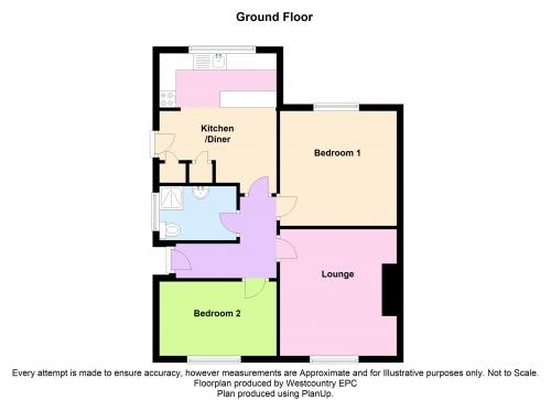 Sedgemoor Road Bridgwater Ta6 2 Bedroom Semi Detached