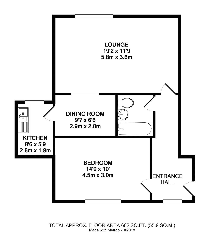 6-8 St Floras Road, Littlehampton, West Sussex BN17, 1 bedroom flat ...
