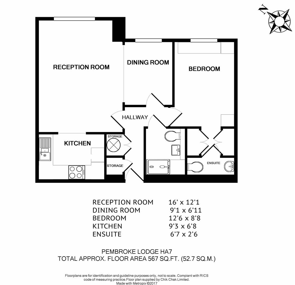Pembroke Lodge, Du Cros Drive, Stanmore HA7, 2 Bedroom
