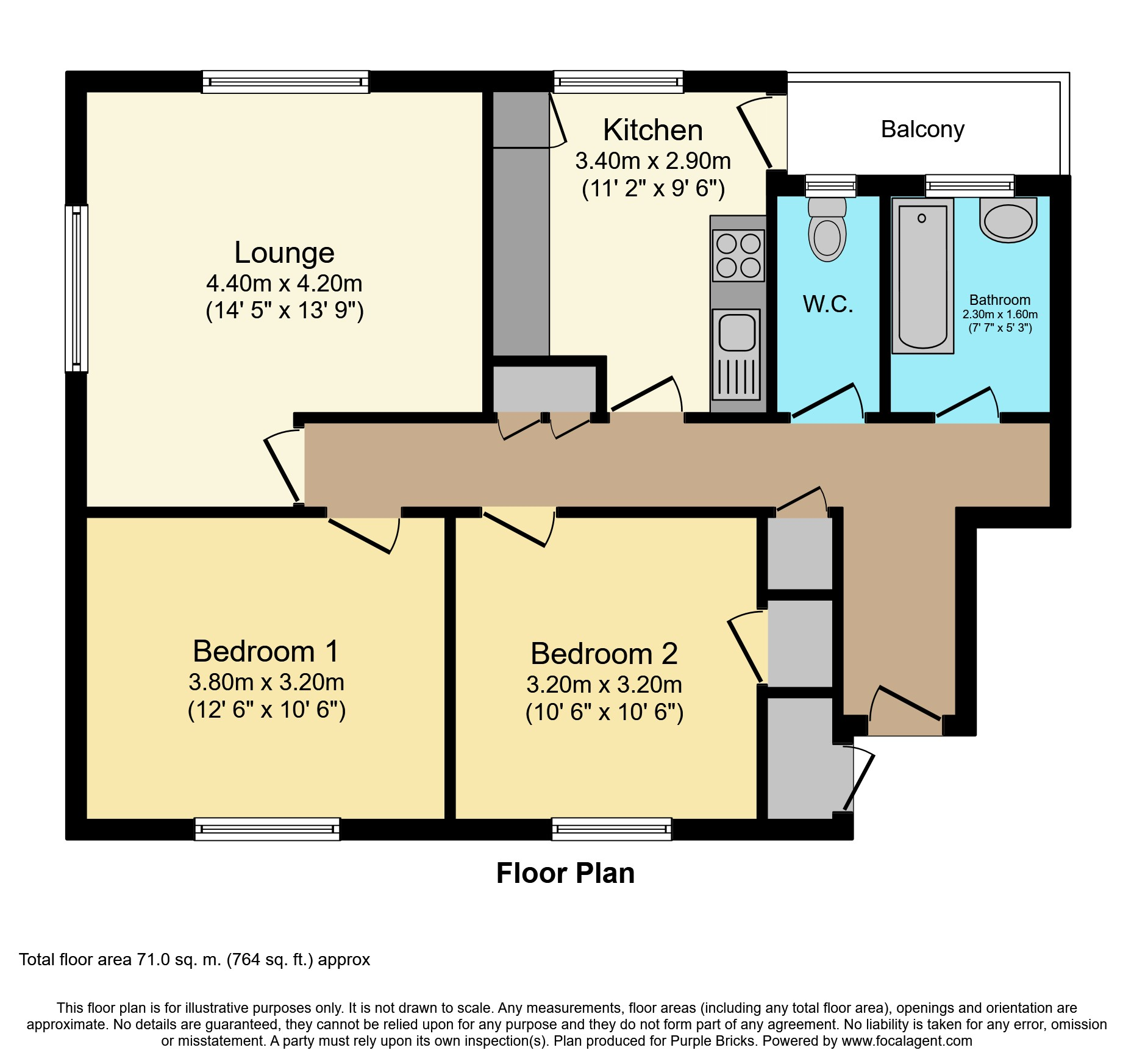 2 Bedrooms Flat for sale in Anerley Road, Anerley SE20