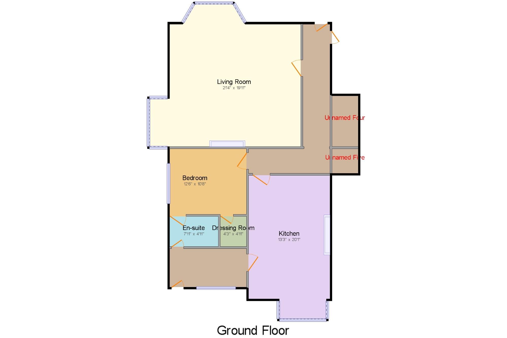 Plan Dressing En U lockwood, 7 victoria road, wilmslow, cheshire sk9, 1 bedroom