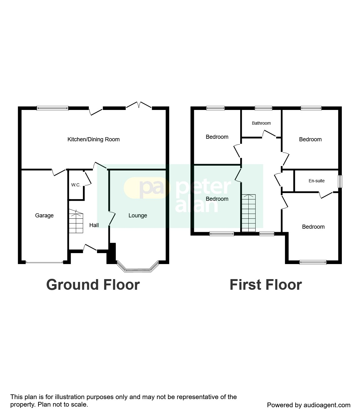 4 bed detached house for sale in parklands rise for Boundary wall cost calculator