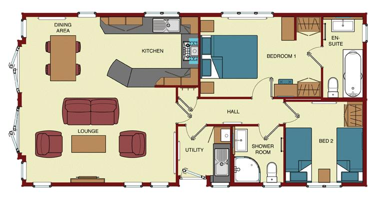 3 bedroom lodge for sale 45881721 primelocation for Lodge plans with 8 bedrooms
