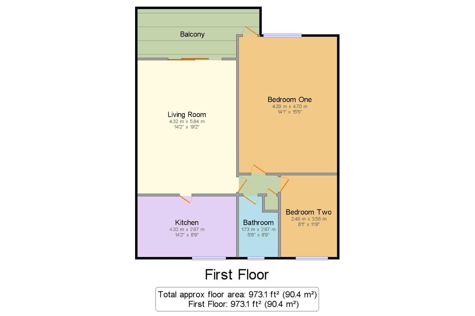 Broadsands Drive Alverstoke Gosport Po12 2 Bedroom Flat