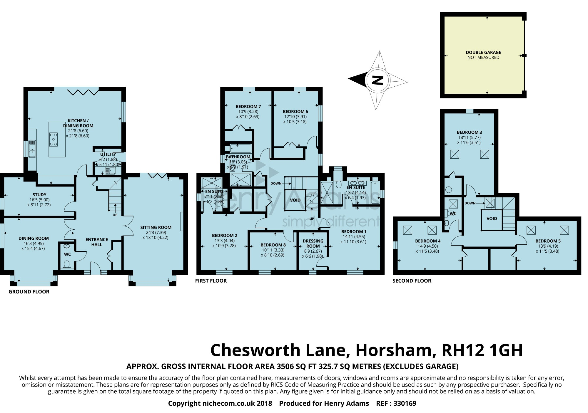 6 bed detached house to rent in Chesworth Lane, Horsham RH12 - Zoopla
