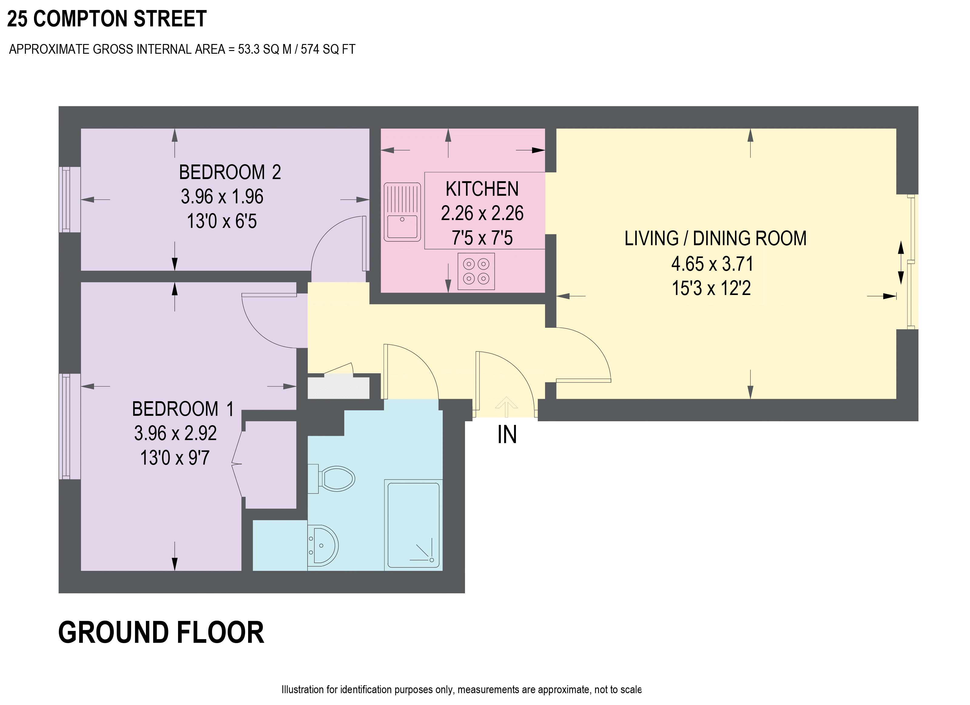 2 Bedrooms Flat for sale in Compton Street, Walkley, Sheffield S6