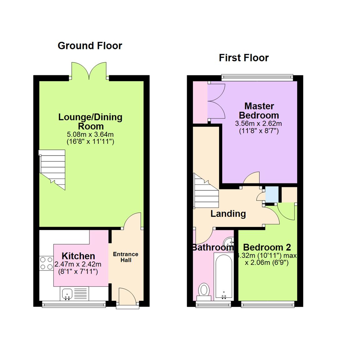 Sensational Wood View Brampton Huntingdon Pe28 2 Bedroom Semi Interior Design Ideas Inamawefileorg