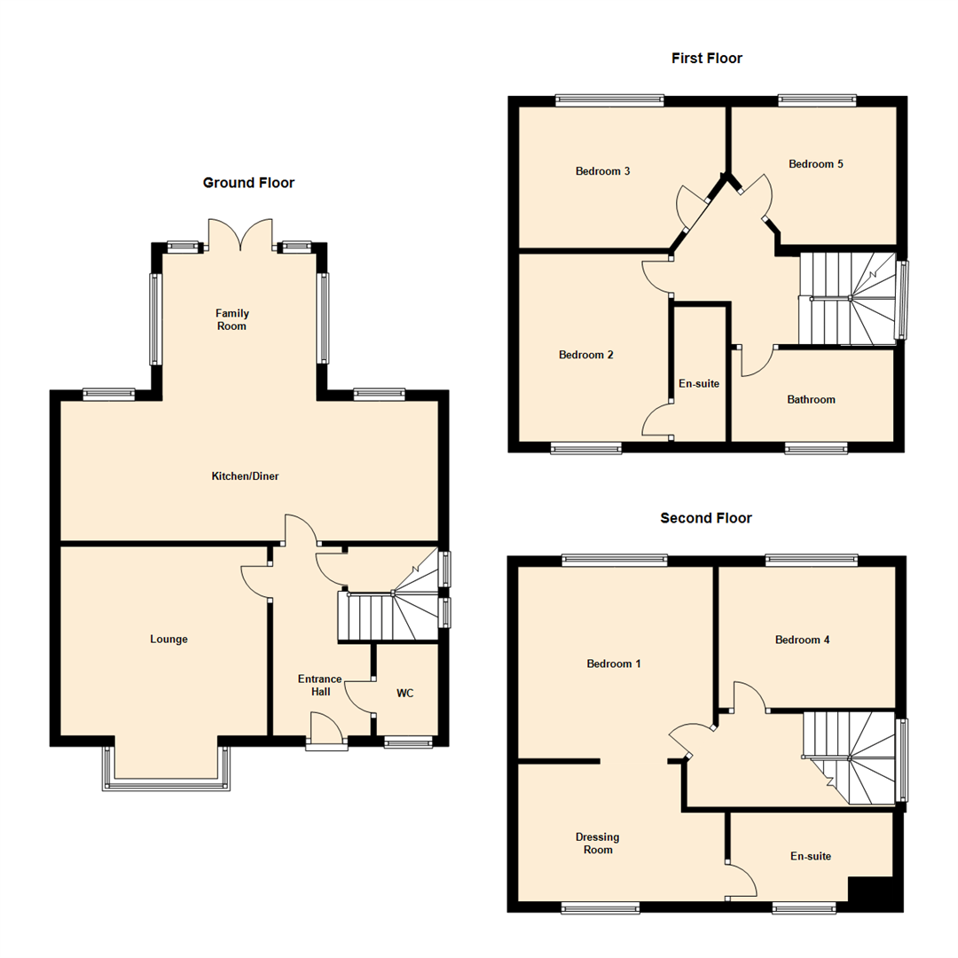 5 Bedrooms Detached house for sale in Sharp House Road, Hunslet, Leeds LS10