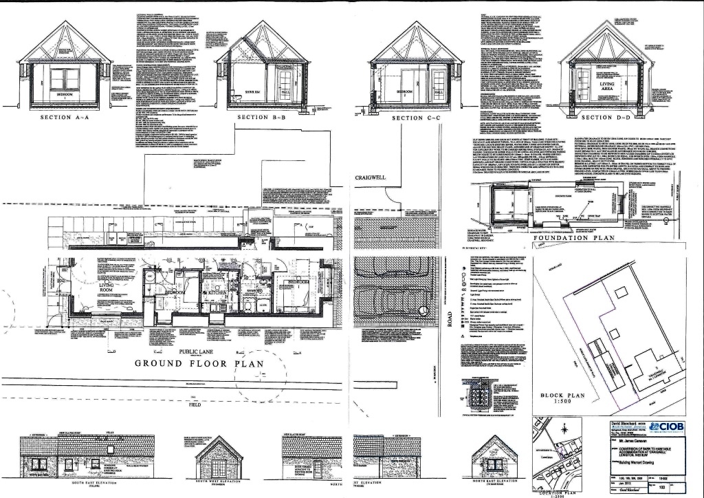 1 bed barn conversion for sale in lewiston by for Barn conversion floor plans