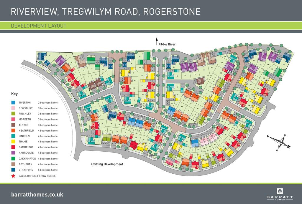 Tiverton At Tregwilym Road Rogerstone Newport Np10 2 Bedroom End Terrace House For Sale