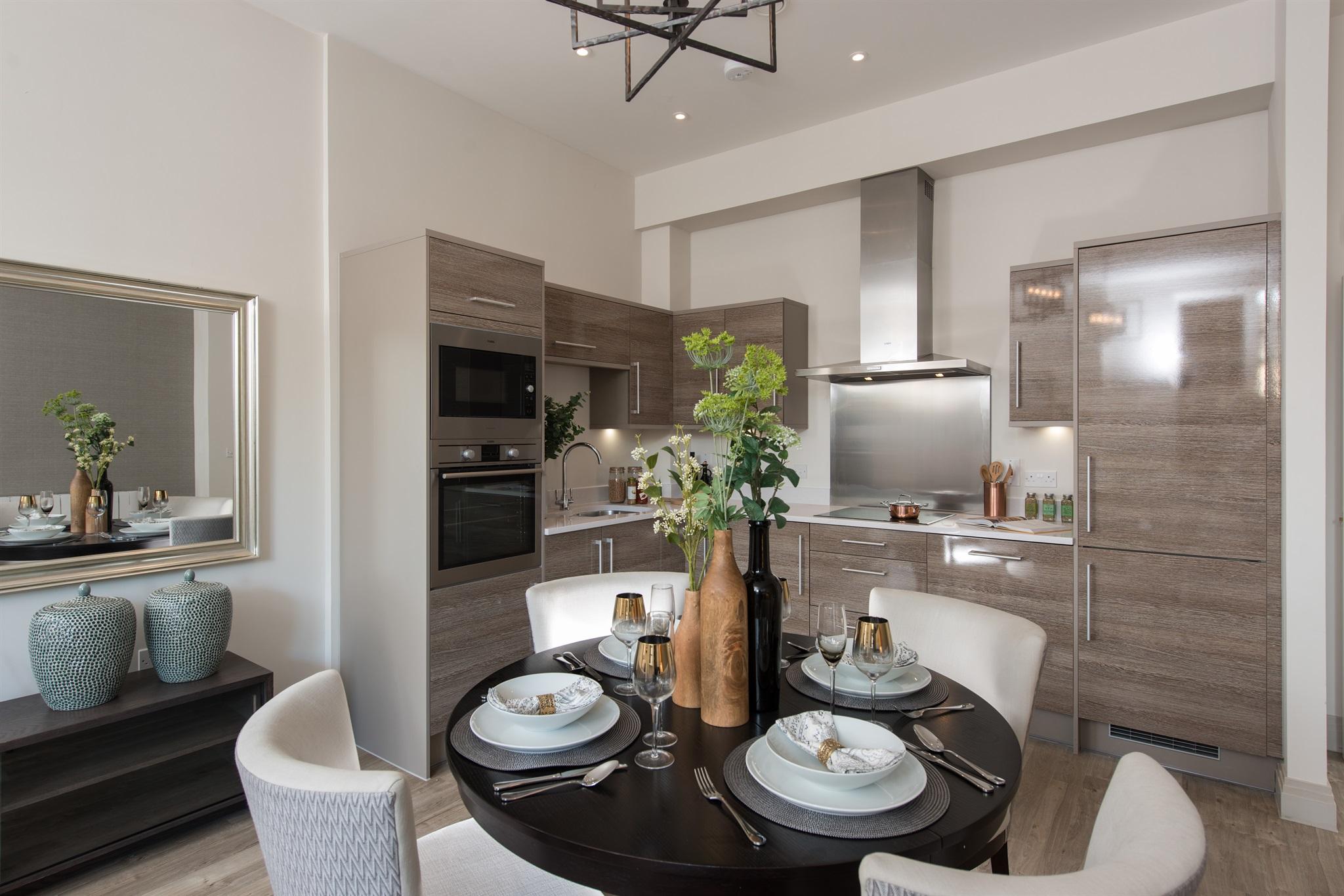 Rushmon Homes,Surbiton Point,Silestone,AEG,Kitchen