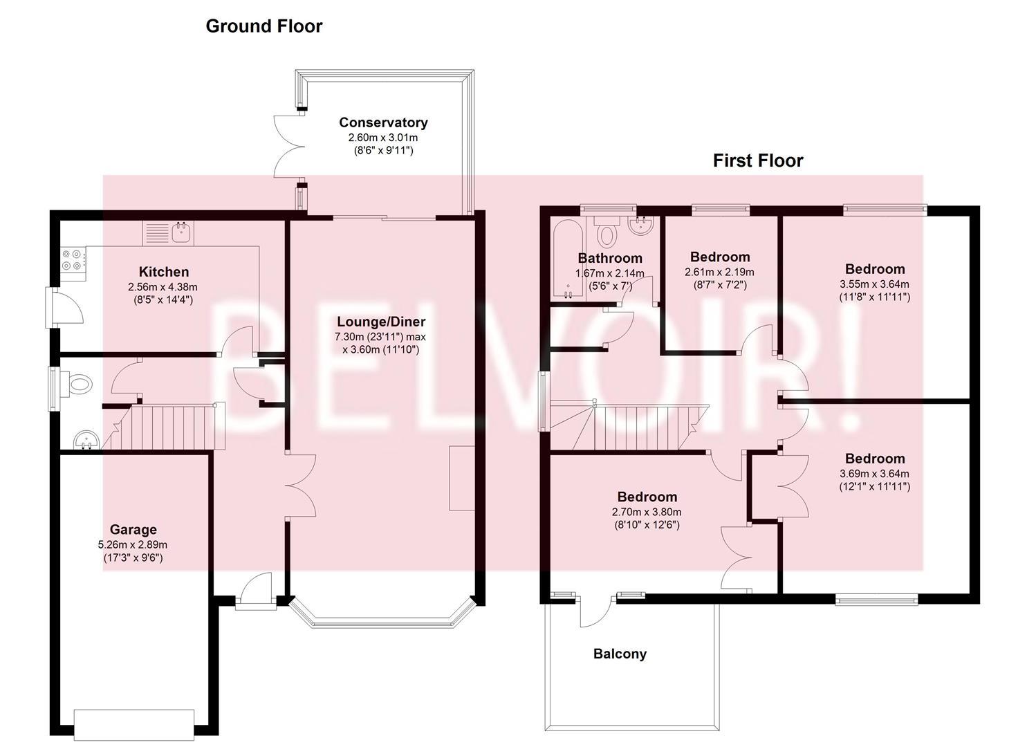 Sheridan Crescent, Baughurst, Tadley RG26, 4 bedroom