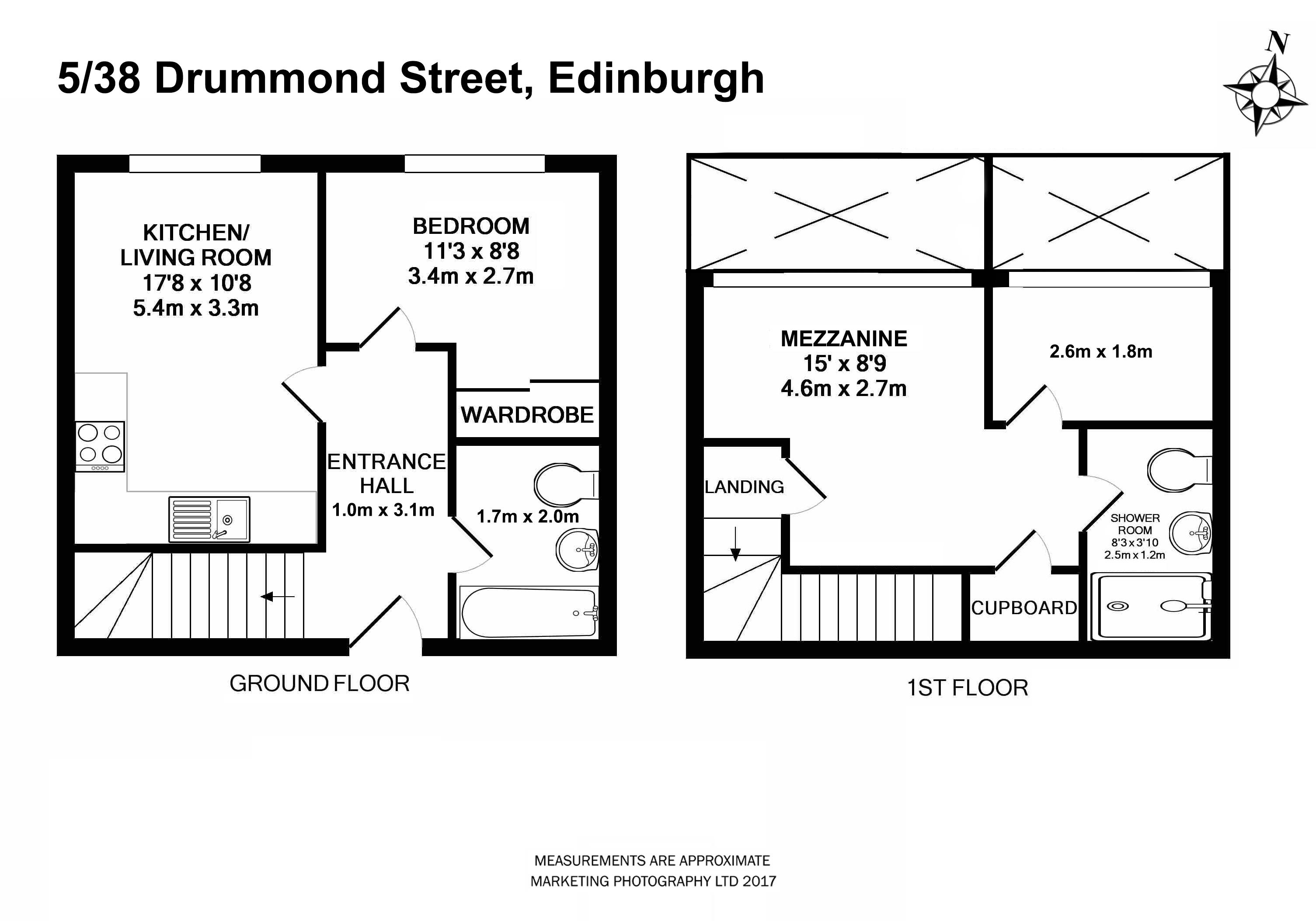 2 Bed Duplex For Sale In Drummond Street Edinburgh Eh8