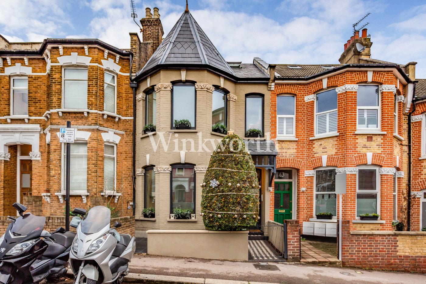 5 bed terraced house for sale in Duckett Road, Harringay Ladder, London N4 - Zoopla