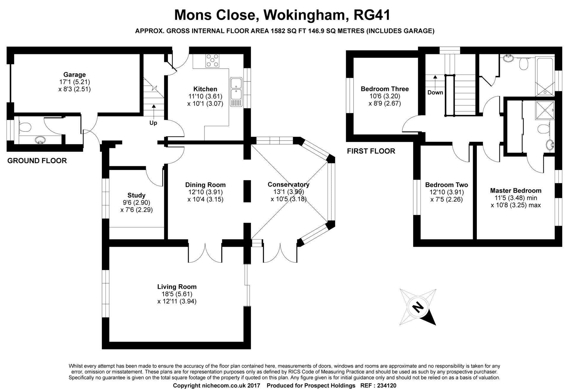 3 Bedrooms Detached house for sale in Mons Close, Wokingham, Berkshire RG41