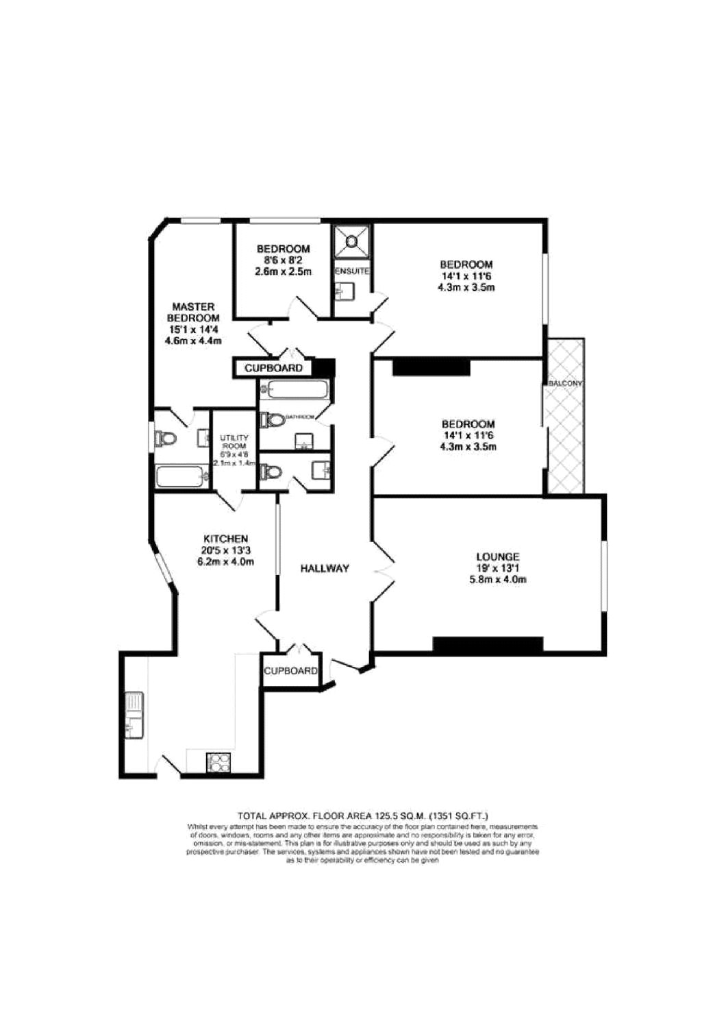 4 bedroom flat for sale in clifton court northwick for 5 clifton terrace winchester b b