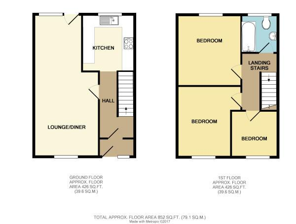 3 Bed Semi Detached House For Sale In Mandeville Way