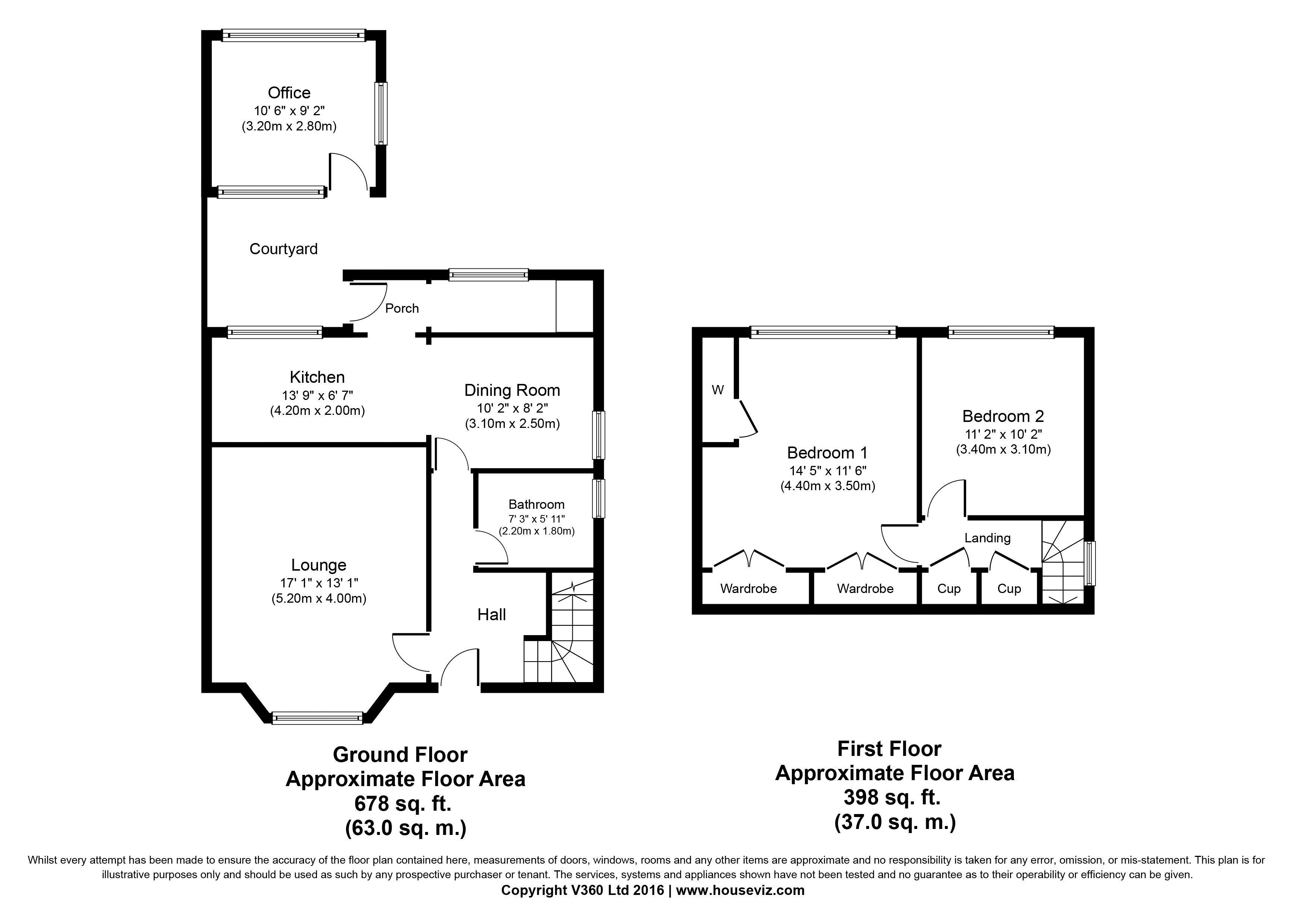 manse road  coylton  ayr ka6  2 bedroom semi-detached house for sale