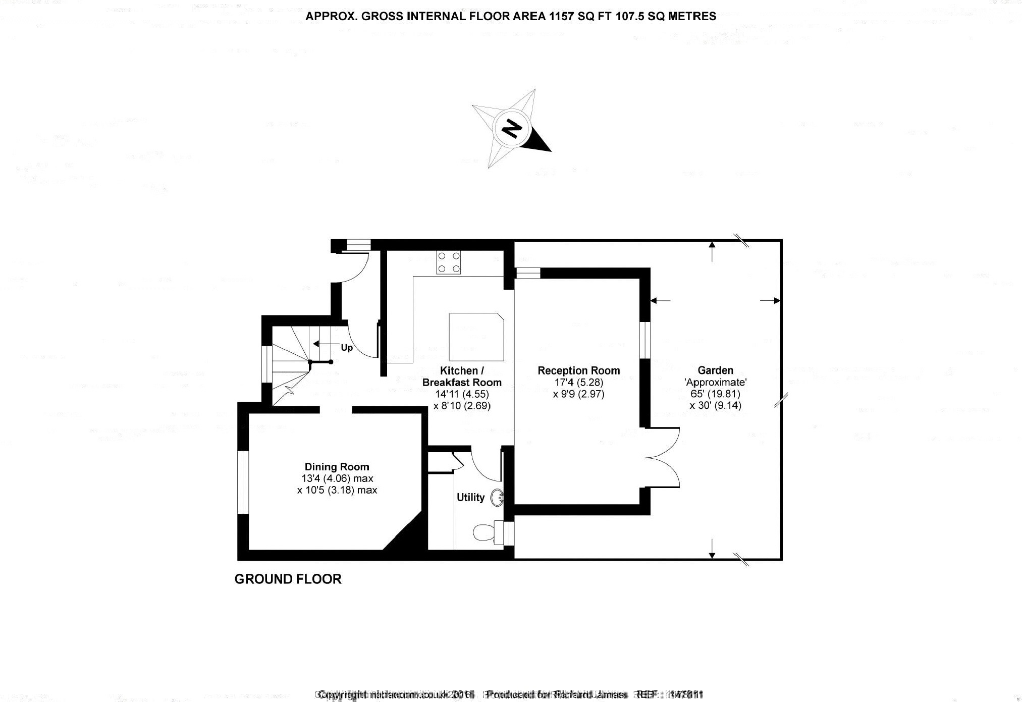 floor plans with pictures the malthouse ashbury oxfordshire sn6 3 bedroom semi 17683