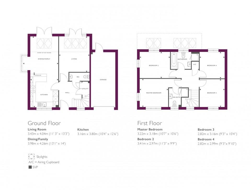 New Homes Rectory Lane Standish