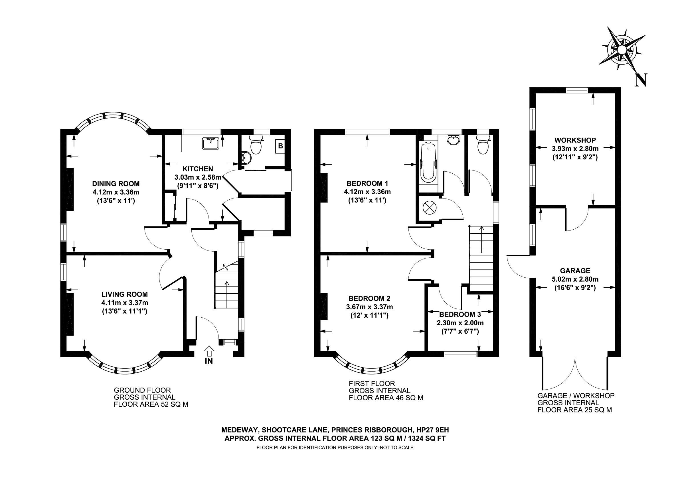 3 bed detached house for sale in shootacre lane princes for 16 brookers lane floor plans