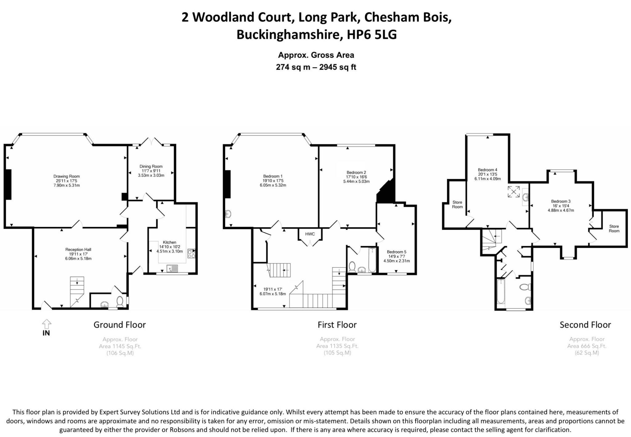 Long Park Chesham Bois Amersham Hp6 5 Bedroom Property