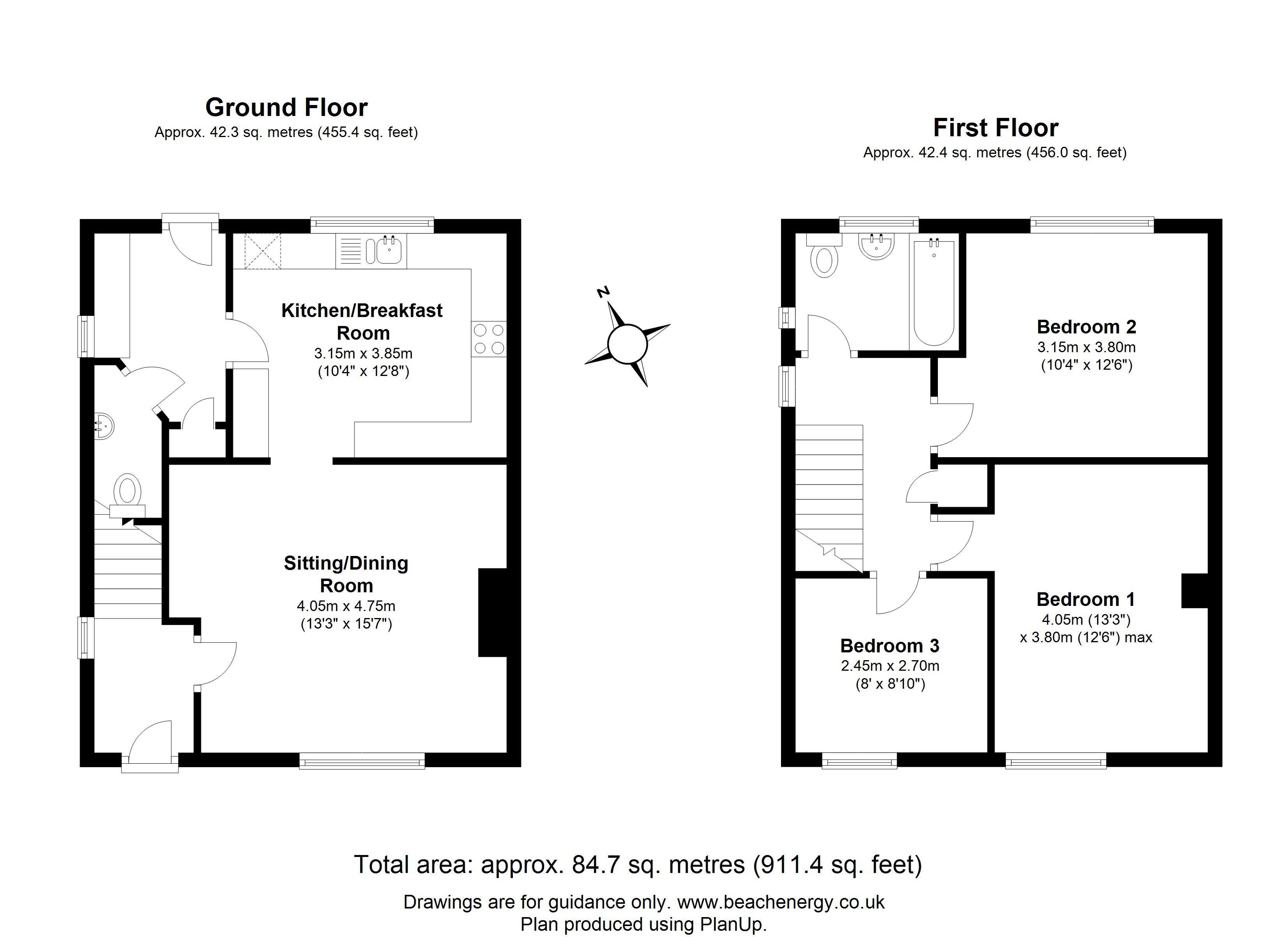 Gunhild Way Cambridge Cb1 3 Bedroom Semi Detached House