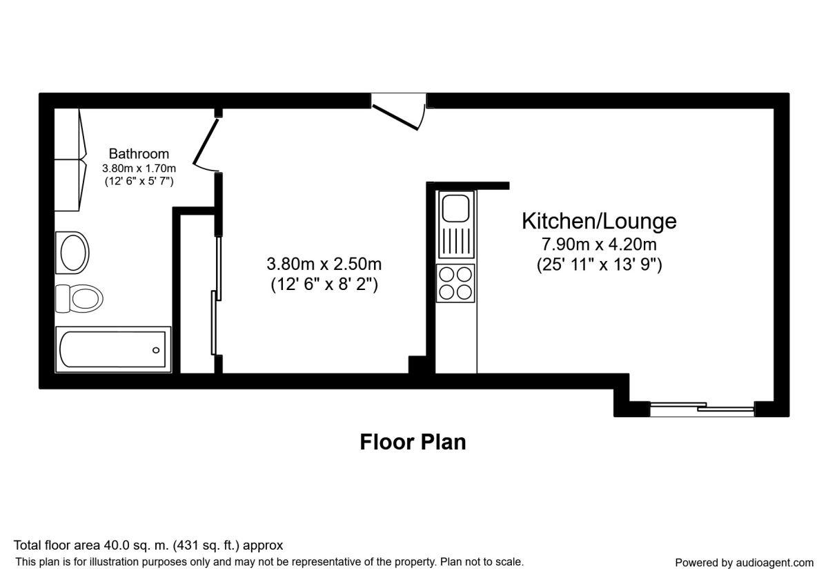 1 Bedrooms Flat to rent in Neptune Street, Leeds LS9
