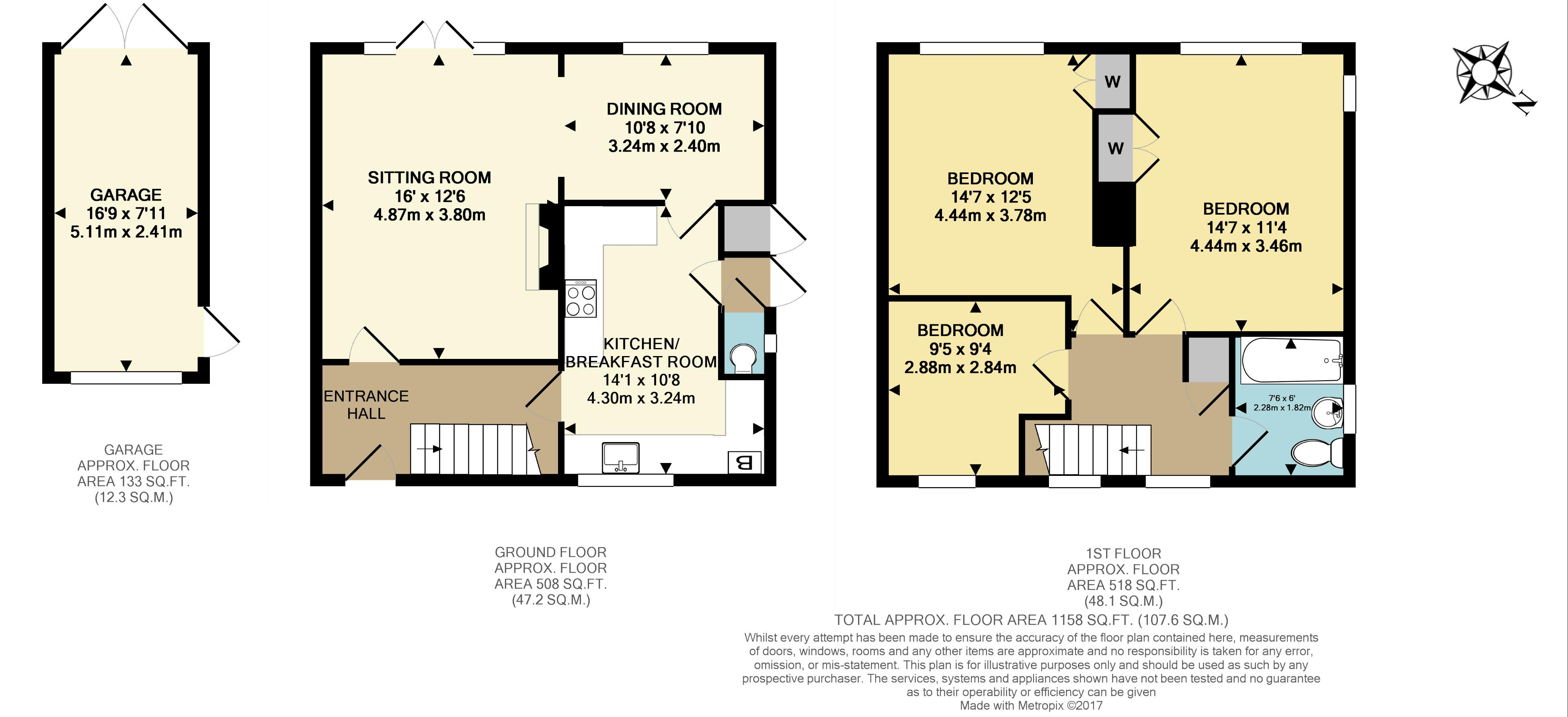 3 bed semi detached house for sale in malmstone avenue for Ron lee homes floor plans