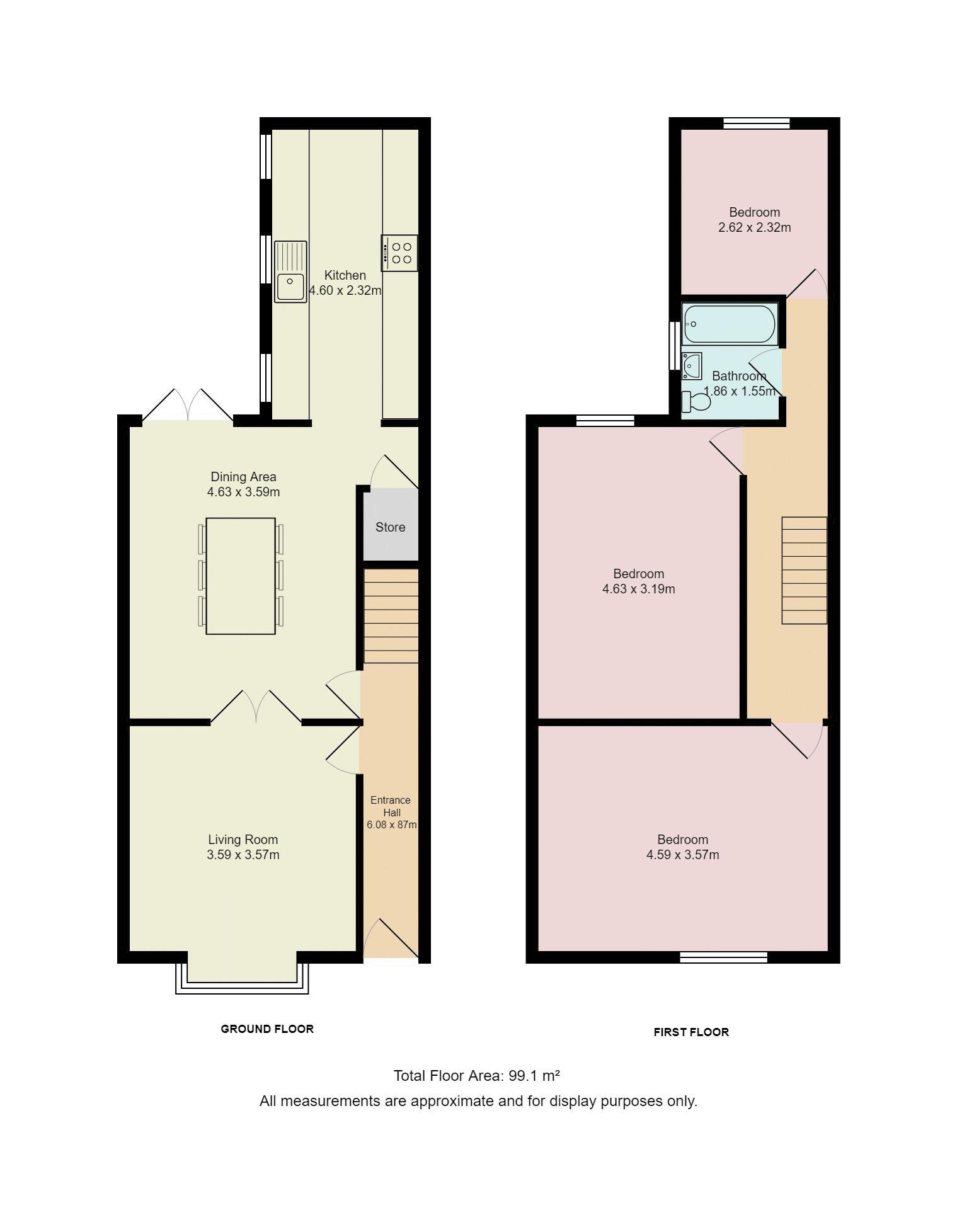 3 bed terraced house for sale in plodder lane farnworth for 16 brookers lane floor plans