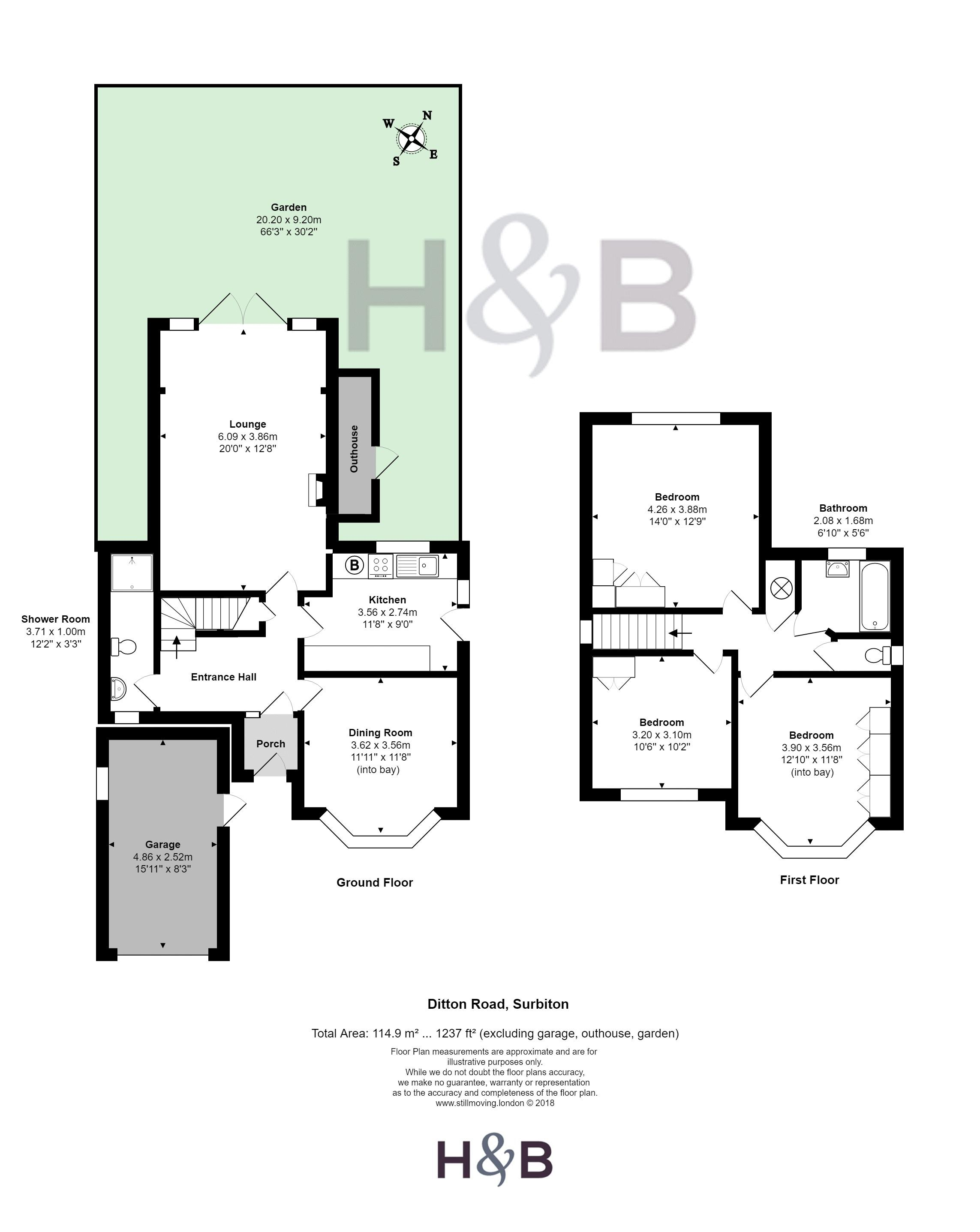 3 Bed Detached House For Sale In Ditton Road Surbiton Kt6