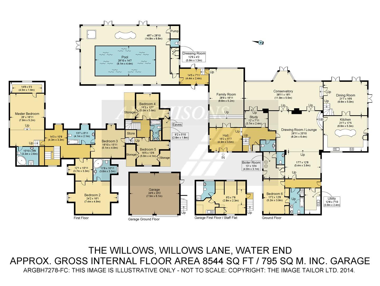 Potten End Hill Water End Hemel Hempstead Hp1 6 Bedroom Detached House For Sale 43692636