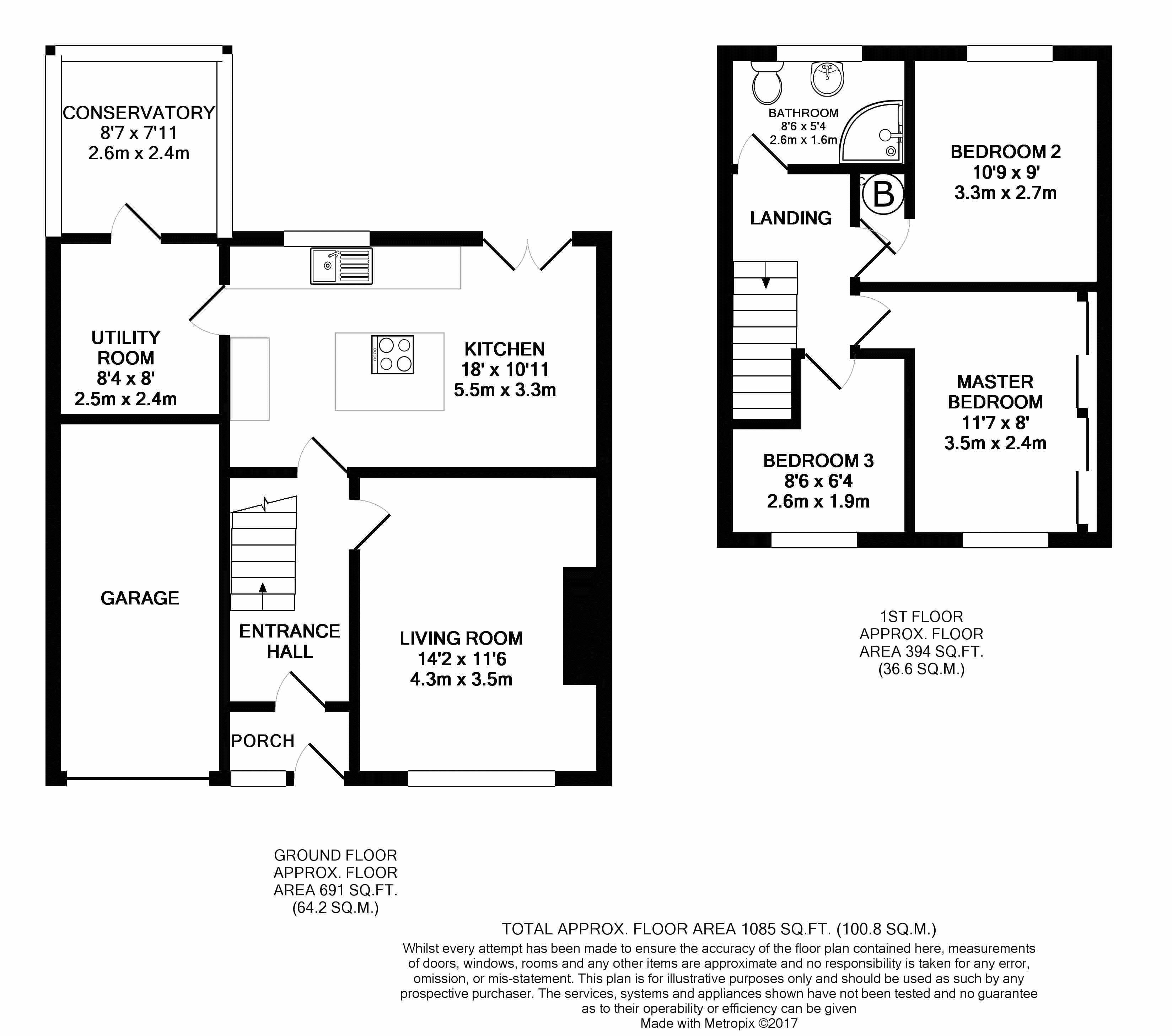 Callander Ouston Chester Le Street Dh2 3 Bedroom Semi