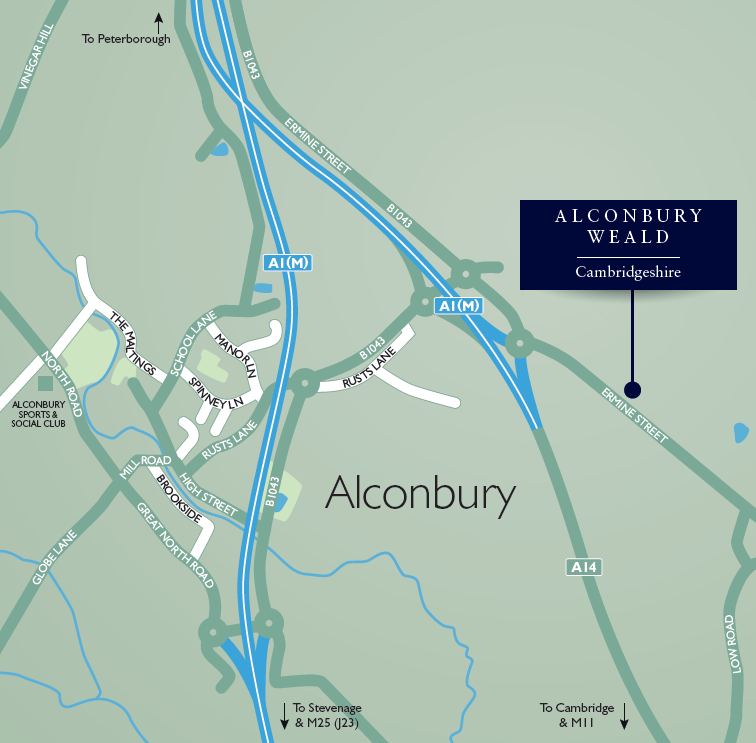 4 Bed Detached House For Sale In The Bourne Alconbury