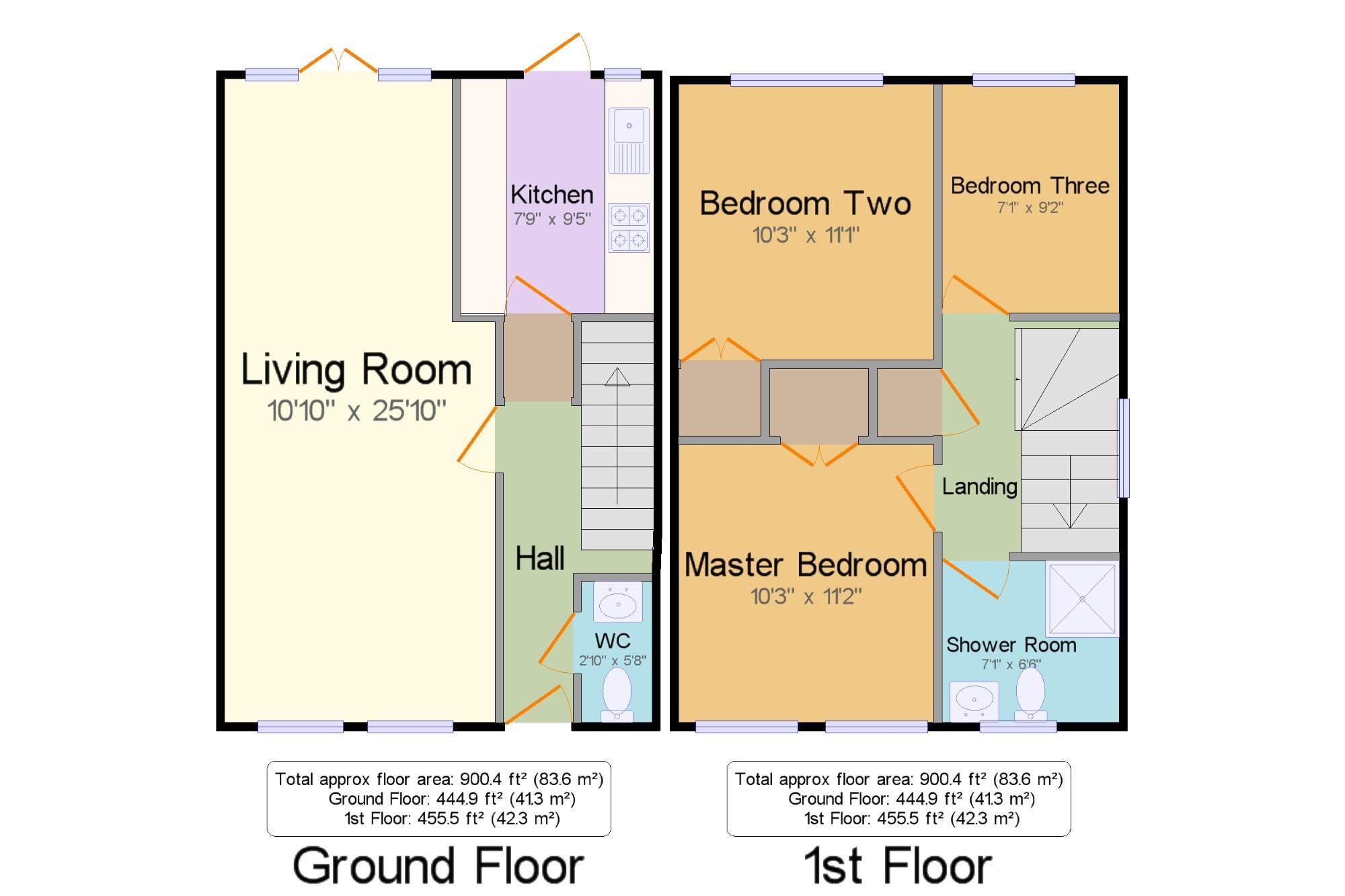 Midhurst West Sussex GU29 3 Bedroom Terraced House For