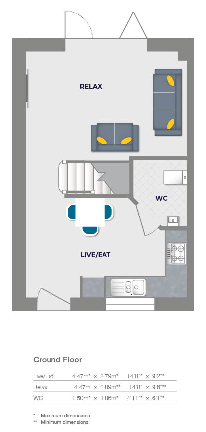 2 Bedrooms  for sale in