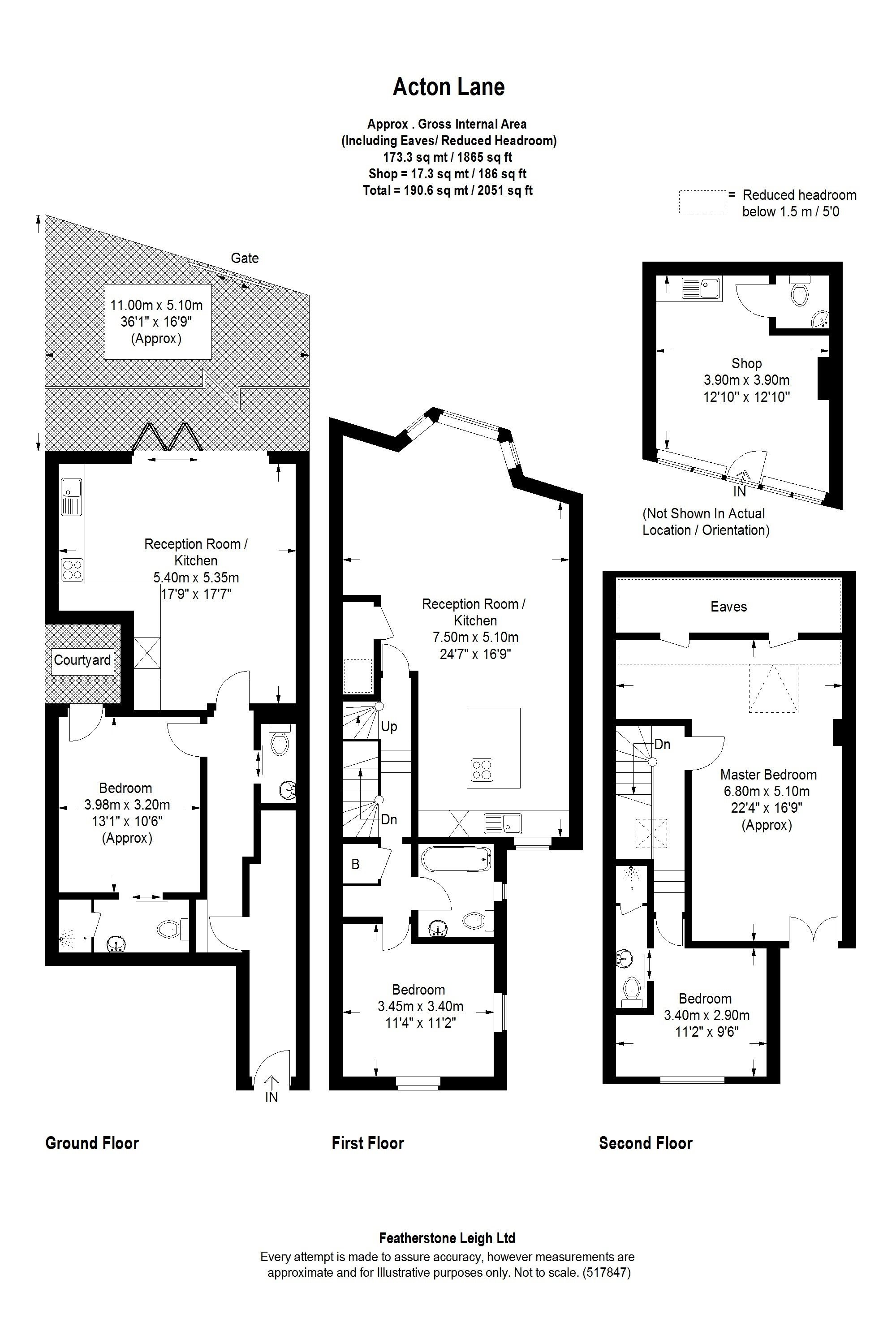 Acton Lane London W4 4 Bedroom Terraced House For Sale