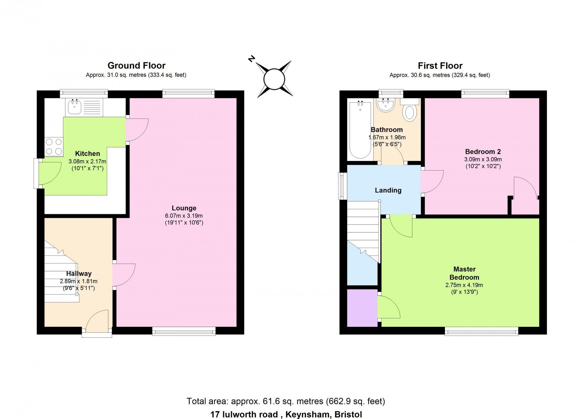 2 Bedroom Semi Detached House For Sale 45645127