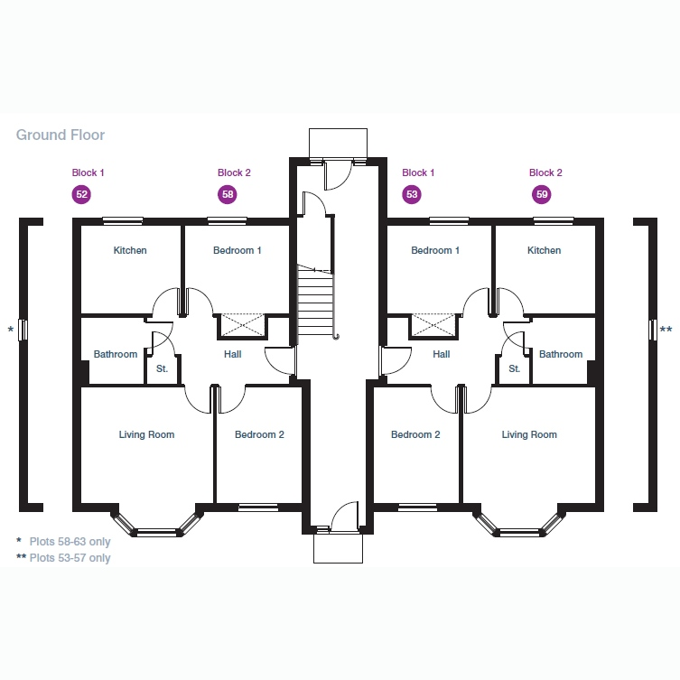 "Flooring Sale Glasgow: 2 Bedroom Flat For Sale In ""The Nairn"" At Capelrig Road"